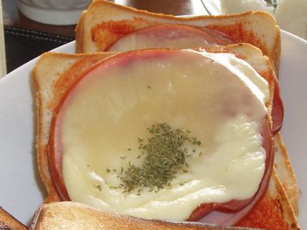 20090412ハムチーズトースト