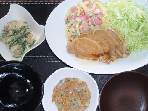 20090511夕ご飯