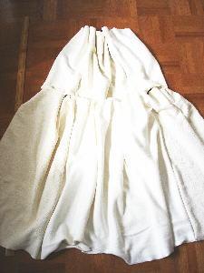 麻のスカート1