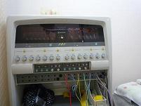電気治療中