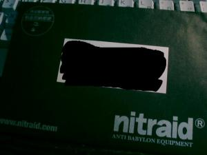 nitraidからのラブレターその1