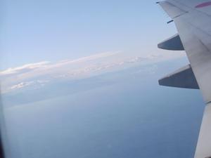 飛行機からの眺めその2