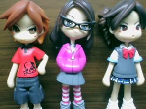 Triple Bad Pinky Girlz