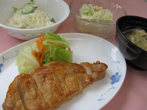 5月29日(金)夕食メニュー