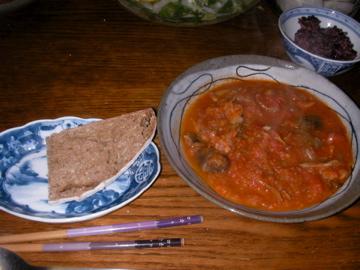 カレー晩ご飯2