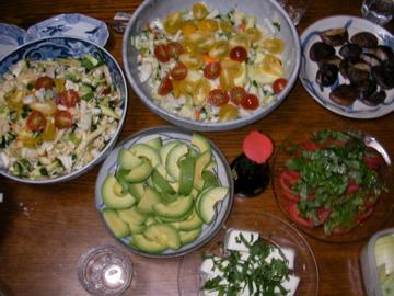 サラダパーティー1