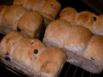 小麦酵母パン1