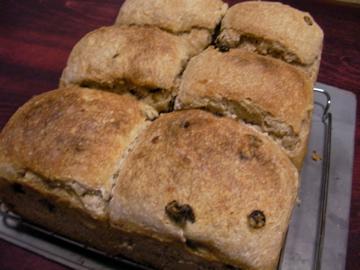 小麦酵母パン6