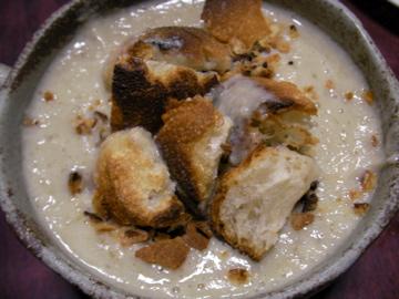 キクイモスープ