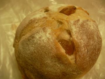 リンゴ酵母パン