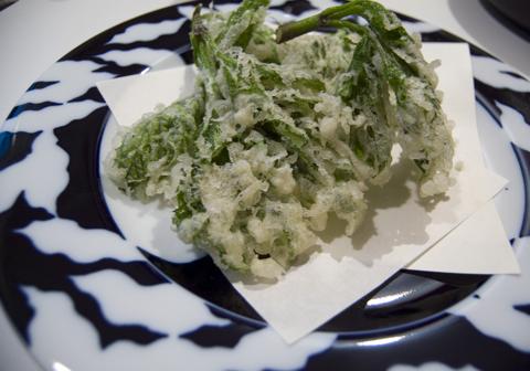 20090325明日葉の天ぷら