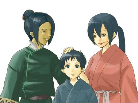 この三人がすき。