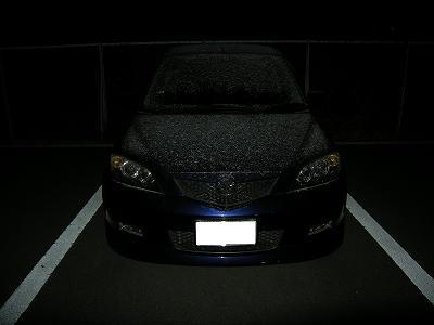 σ(・ω・*)の愛車が真っ白けw