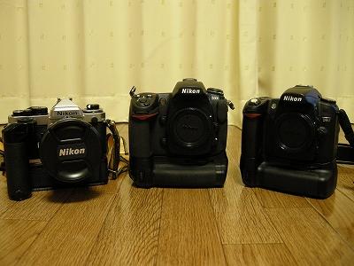 σ(・ω・*)のカメラ達
