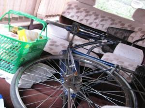 j自転車積んで