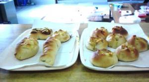 皆でパン作り