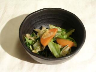 今日の惣菜 001