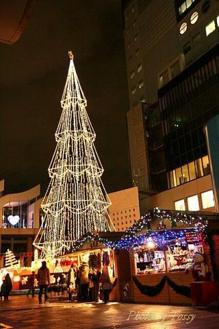 スカイビルのクリスマス