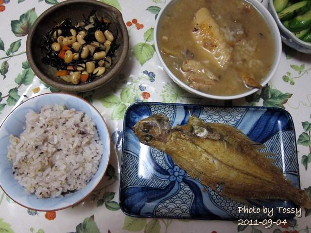 09/04 夕食