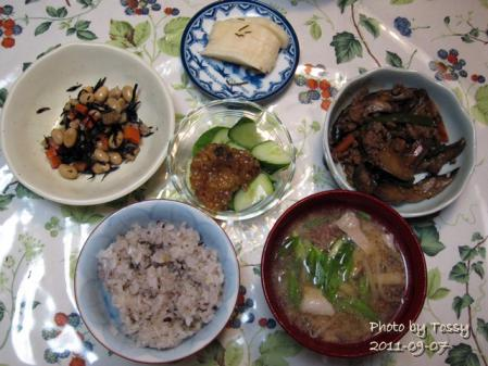 2011・09・07 夕食