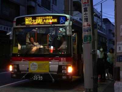 E951 荏原町駅入口にて