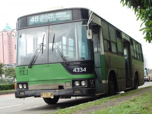 元都バス4434