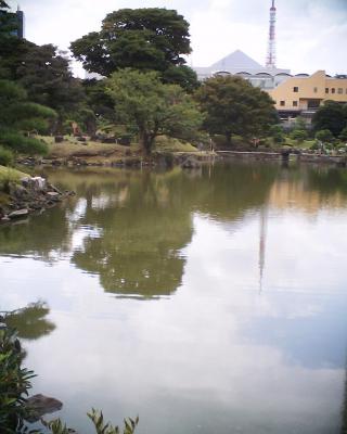 池にうつる東京タワー:R2