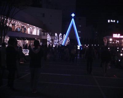 新宿サザンテラスイルミネーション:R2