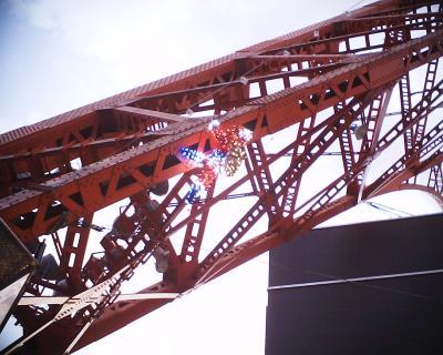 東京タワーにサンタ:R2