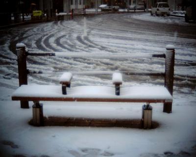 雪のベンチ:Entry