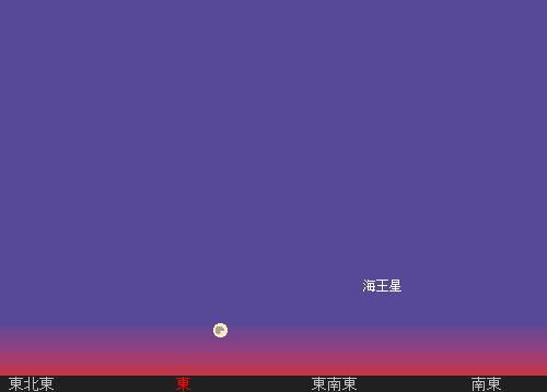 2011 9 12 中秋の名月星図1