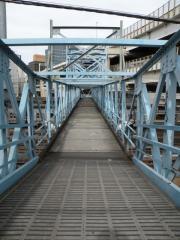 撮影地現地画像 横浜駅跨線橋