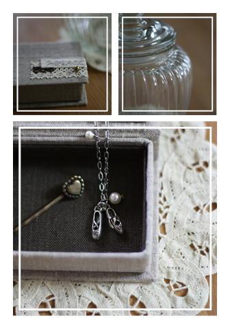 ネックレスと箱