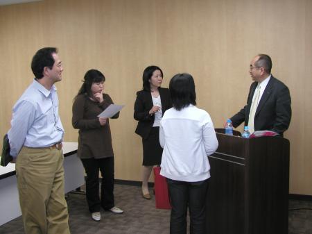 2009年4月18日竹尾セミナー