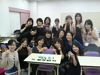 授業のあとに未来の看護師さんたちと