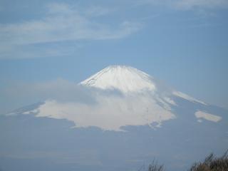 金時山からの富士山