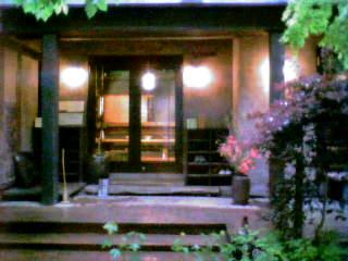 のび家玄関