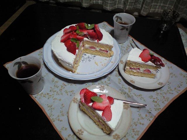 ケーキ・ロング