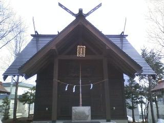 小野幌神社本殿