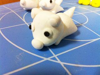 犬2:粘土制作