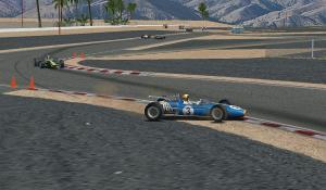 オーバースピードでコースアウト