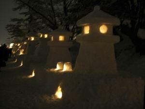 :米沢「上杉灯篭祭り」12