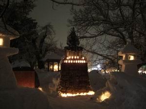 :米沢「上杉灯篭祭り」15