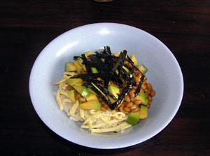 アボガド納豆寿司