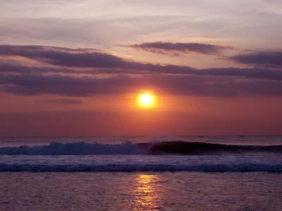 バランガンの夕陽