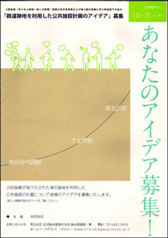 シモキタザワアイデア募集表紙
