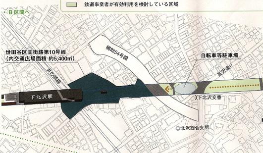 シモキタザワアイデア募集区案たたき台