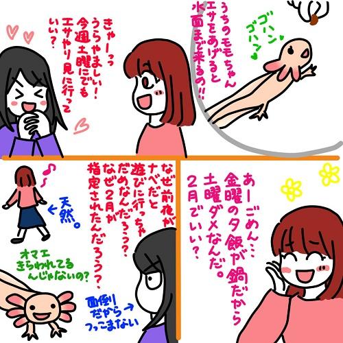 20120116とりぃのうちのモモちゃん近況