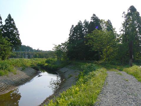 080517 梵字川下流から臨む