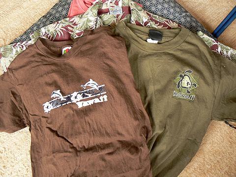 '08ハワイ お土産:ABCシャツ